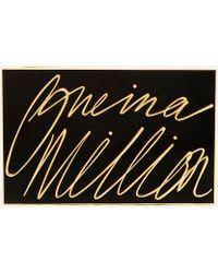 Lulu Guinness - Olivia 'one In A Million' Clutch - Lyst