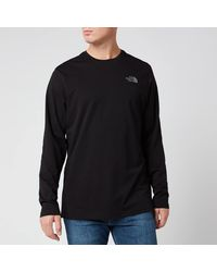 The North Face Long Sleeve Easy T-shirt - Black