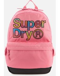 Superdry Rainbow Infill Montana Bag - Pink