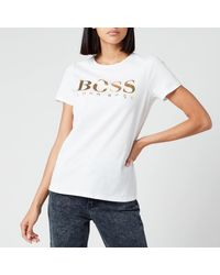 BOSS by Hugo Boss Elogo T-shirt - White
