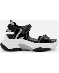 Ash Adapt Chunky Sandals - Black