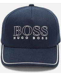 BOSS Basic Cap - Blue