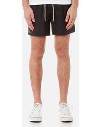 Lacoste - Men's Basic Swim Shorts - Lyst