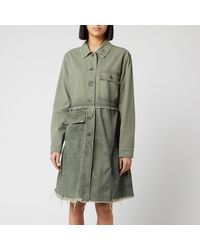 Free People Forever Free Tiered Jacket - Green