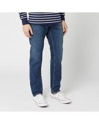 Nudie Jeans Steady Eddie Ii Straight Jeans - Blue