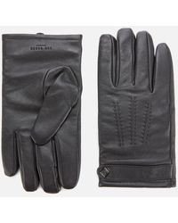 Ted Baker Ovine Leather Gloves - Black