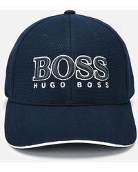 BOSS by HUGO BOSS Large Logo Cap - Blue
