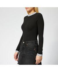 Levi's Long Sleeve Bodysuit - Black