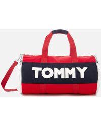 Tommy Hilfiger - Tommy Nylon Duffle Bag - Lyst