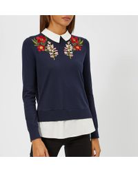 Ted Baker - Toriey Layered Look Jumper - Lyst