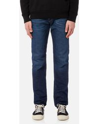 DIESEL - Buster Slim Tapered Denim Jeans - Lyst