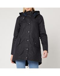 Barbour Oceanfront Wax Jacket - Blue