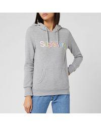 Superdry Classic Rainbow Hoodie - Grey