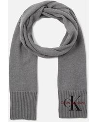 Calvin Klein Basic Women Knitted Scarf - Gray