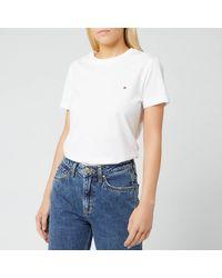 Tommy Hilfiger Heritage Crew Neck T-shirt - White