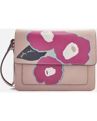 Radley Eden Row Small Flapover Cross Body Bag - Multicolour
