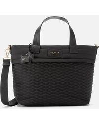 Radley Penton Mews Medium Multiway Grab Ziptop Tote Bag - Black