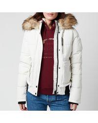 Superdry Everest Bomber Jacket - White