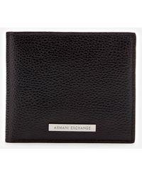 Armani Exchange | Bifold Coin Cse Wllet - Black