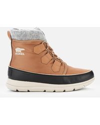 Sorel Explorer Carnival Waterproof Boots - Brown