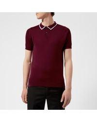John Smedley - Klerk 30 Gauge Sea Island Cotton Polo Shirt - Lyst