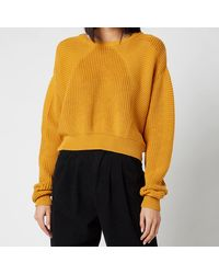 L.F.Markey Julius Knitted Jumper - Orange