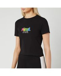 capitalismo Excesivo delincuencia  PUMA Short-sleeve tops for Women - Up to 88% off at Lyst.co.uk