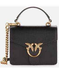 Pinko Love Mini Top Handle Bag - Black
