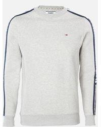 Tommy Hilfiger Branded Tape Sweatshirt - Gray