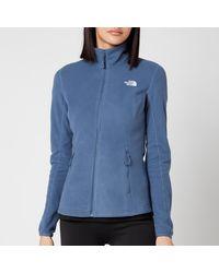 The North Face Resolve Full Zip Fleece - Blue