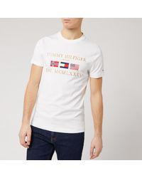 Tommy Hilfiger Three Flags T-shirt - White