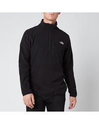 The North Face Glacier Pro 1/4 Zip Fleece - Black