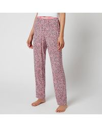 Tommy Hilfiger Woven Print Pyjama Pants - Pink