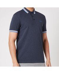BOSS by HUGO BOSS Boss Athleisure Paddy Pique Polo Shirt - Blue