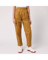 Levi's Pleated Balloon Leg Jeans - Brown