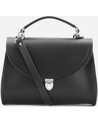 Cambridge Satchel Company The Poppy Shoulder Bag - Black