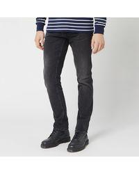 Nudie Jeans Grim Tim Slim Jeans - Black