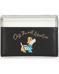 Radley Fisherman Small Card Holder - Black