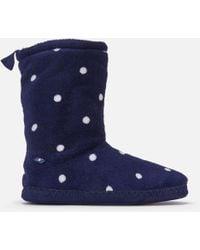 Joules - Homestead Fleece Lined Slipper Socks - Lyst