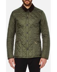 Barbour Heritage Liddesdale Quilt Jacket - Green