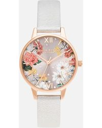 Olivia Burton Sparkle Florals Midi Shimmer Watch - Multicolor