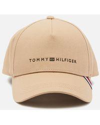 Tommy Hilfiger Uptown Cap - Natural
