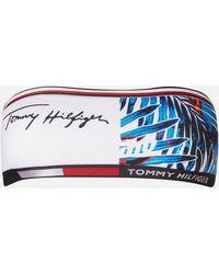 Tommy Hilfiger Fixed Bandeau Bikini Top - Blue
