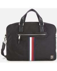 Tommy Hilfiger Clean Nylon Computer Bag - Black