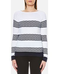 Barbour - Women's Headland Knitted Jumper - Lyst