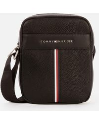 Tommy Hilfiger Downtown Mini Reporter Bag - Black