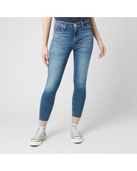 Tommy Hilfiger Nora Mr Skinny Ankle Jeans - Blue