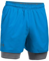 Qualifier 2-in-1 Shell And Stretch-jersey Shorts Under Armour LROIT