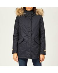 Woolrich - Women's Classic Coat With Removable Inner - Lyst