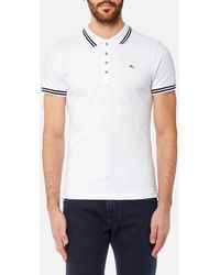 DIESEL - Randy Tipped Polo Shirt - Lyst